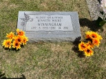My Uncle Kenny's grave. He was my mother's little brother. He passed on Christmas Eve 2011.