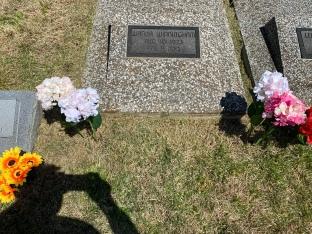 My Grandma Wanda's grave. She passed at 89 in February 2013.